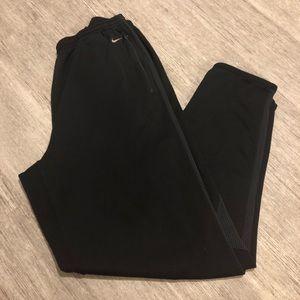 Nike Dri-fit sweatpants black inseam 32 inches